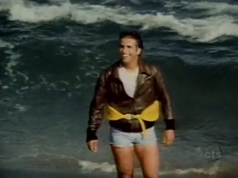 See The Episode Where Fonzie Jumped The Shark On Happy Days